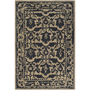 Armelle Black and Tan Rectangular: 2 Ft. x 3 Ft. Rug