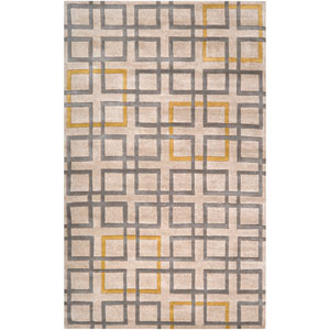 Artist Studio Beige Rectangular: 9 ft. x 13 ft. Rug