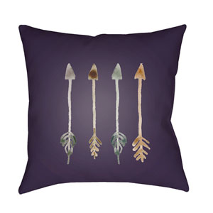 Arrows Multicolor 20 x 20-Inch Throw Pillow