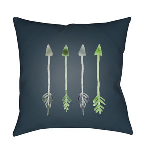 Arrows Green and Gray 20 x 20-Inch Throw Pillow