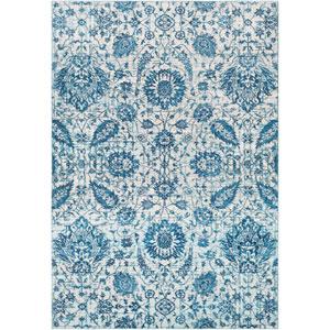 Aura silk Blue Rectangle: 2 Ft. x 3 Ft. Rug