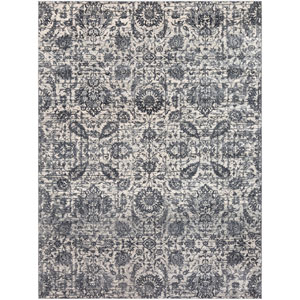 Aura silk Black Rectangle: 7 Ft. 10 In. x 10 Ft. 3 In. Rug