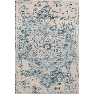 Asia Minor Blue Rectangle: 2 Ft. x 3 Ft. Rug