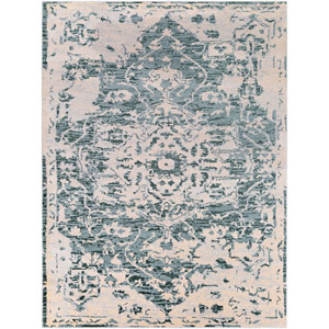 Asia Minor Blue Rectangle: 7 Ft. 10 In. x 10 Ft. 3 In. Rug