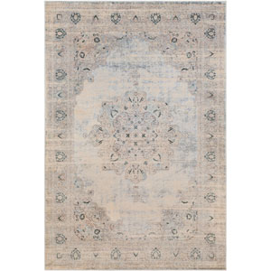 Asia Minor Gray Rectangle: 2 Ft. x 3 Ft. Rug