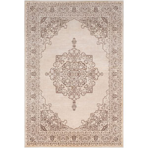 Asia Minor Brown Rectangle: 6 Ft. 7 In. x 9 Ft. 6 In. Rug