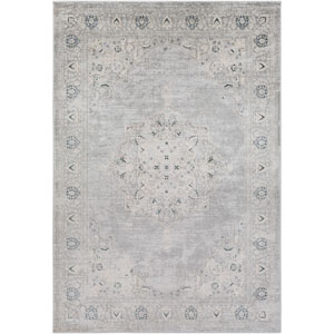 Asia Minor Gray Rectangle: 9 Ft. 3 In. x 12 Ft. 3 In. Rug