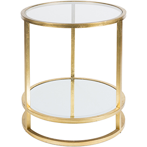 Ascot Gold Accent Table
