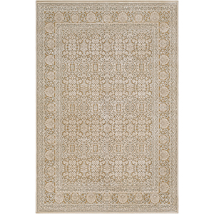 Aesop Khaki Rectangular: 6 Ft. 7 In. x 9 Ft. 6 In. Rug