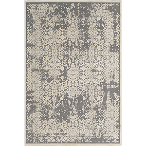 Aesop Grey and Beige Rectangular: 7 Ft. 10 In. x 10 Ft. 4 In. Rug