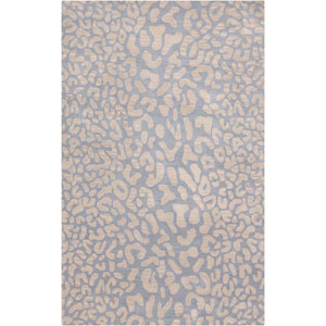 Athena Pale Blue Rectangular: 5 Ft. x 8 Ft. Rug