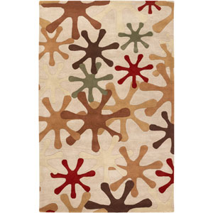 Athena Off White Rectangular: 5 Ft. x 8 Ft. Rug