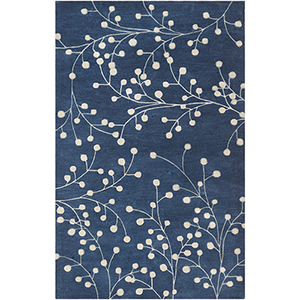Athena Blue Rectangular: 5 Ft. x 8 Ft. Rug