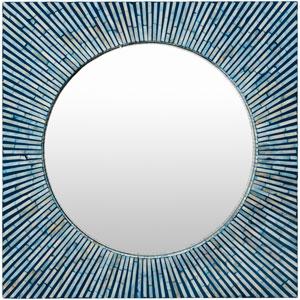 Avondale Blue Mirror