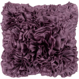 Prom Purple 22-Inch Pillow Cover
