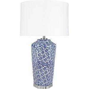 Briarcrest Painted Blue Base Portable Lamp