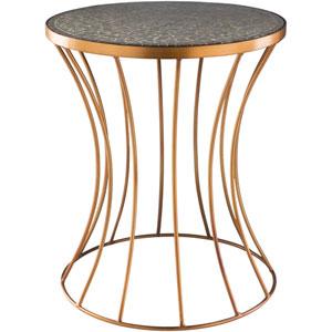 Breccan Copper Accent Table