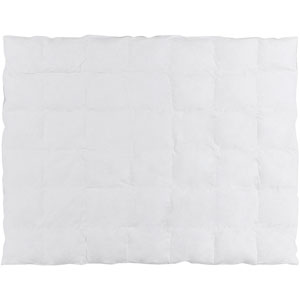 Surya Bed Insert White Twin Duvet