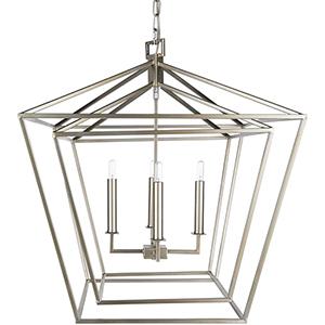 Bellair Silver Four-Light Pendant
