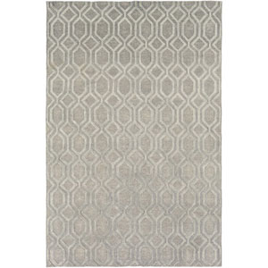 Belvoire Gray Rectangular: 6 Ft x 9 Ft Rug