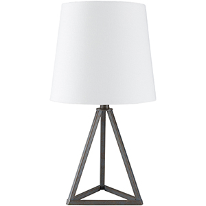 Belmont Black and White One-Light Table Lamp