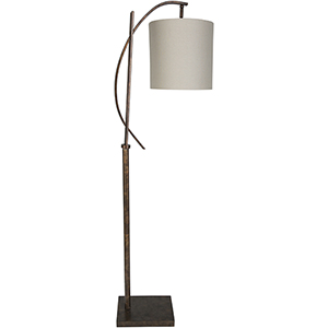 Beaufort Bronzed Metallic One-Light Floor Lamp