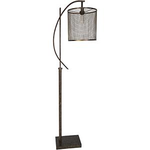 Beaufort Bronze One-Light Floor Lamp