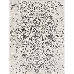 Bahar Beige and Charcoal Rectangular: 7 Ft. 10 In. x 10 Ft. 3 In. Rug