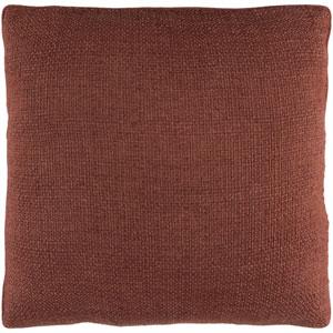 Bihar Dark Brown 18 x 18-Inch Pillow Cover