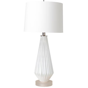 Britt White Table Lamp