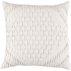 Baker Gray 18-Inch Pillow Cover