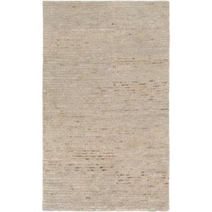 Blend Gray and Beige Rectangular: 2 Ft x 3 Ft Rug