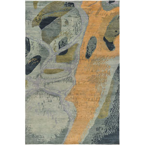 Brought to Light Sea Foam and Mocha Rectangular: 2 Ft x 3 Ft Rug