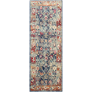 Bohemian Navy Runner: 2 Ft.11 In. x 7 Ft. 10 In. Rug