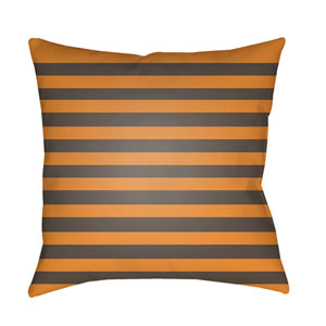 Orange Boo 20-Inch Throw Pillow with Poly Fill