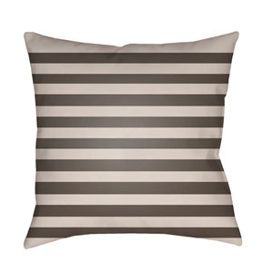 Gray Boo 20-Inch Throw Pillow with Poly Fill