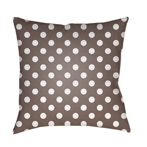 Gray Boo 18-Inch Throw Pillow with Poly Fill
