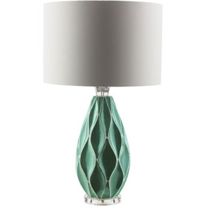 Bethany Teal One-Light Table Lamp