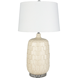 Bayview Cream One-Light Table Lamp