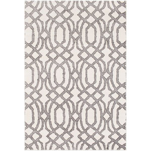 Baylee Gray and Brown Rectangular: 7 Ft. 10 In. x 10 Ft. 10 In. Rug
