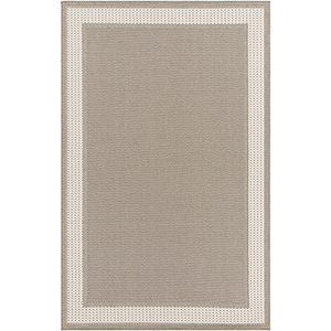 Breeze Taupe Indoor/Outdoor Rectangular: 5 Ft. 3 In. x 7 Ft. 6 In. Rug