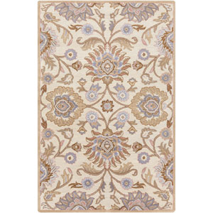 Caesar Antique White and Driftwood Brown Rectangular: 5 Ft. x 8 Ft. Rug