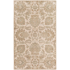 Caesar Neutral and Brown Rectangular: 2 Ft x 3 Ft Rug