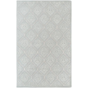 Modern Classics Pale Blue Rectangular: 5 Ft. x 8 Ft. Rug
