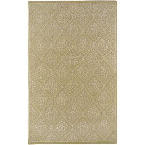 Modern Classics Pale Green Rectangular: 5 Ft. x 8 Ft. Rug