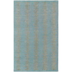 Modern Classics Blue Rectangular: 5 Ft. x 8 Ft. Rug