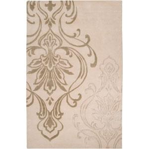 Modern Classics Ivory Rectangular: 5 Ft. x 8 Ft. Rug