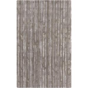 Modern Classics Slate and Light Gray Rectangular: 9 Ft x 13 Ft Rug