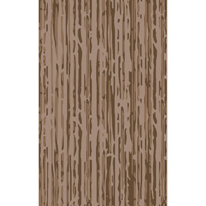 Modern Classics Taupe and Beige Rectangular: 9 Ft x 13 Ft Rug