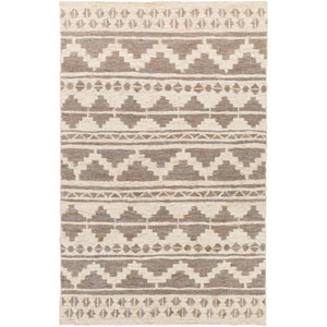 Columbia Charcoal and Ivory Rectangular: 2 Ft x 3 Ft Rug
